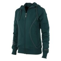 hooded-sweat-full-zip-ladies-bottle-green