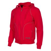 hooded-sweat-full-zip-unisex-bright-red