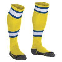 league-sock-yellow-white-royal